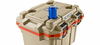 Pelican Elite Cooler - 30 Quart - Tan/Orange - 30Q-TANORG