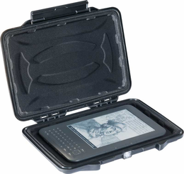 Pelican 1055CC Hardback Case for eReaders - Padded Foam Liner