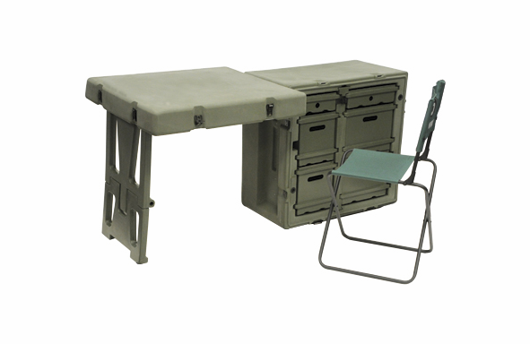 Pelican-Hardigg FD3121 SINGLE FIELD DESK
