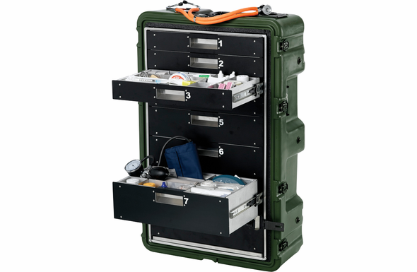 Pelican-Hardigg MC8100 MEDCHEST 8 Drawer