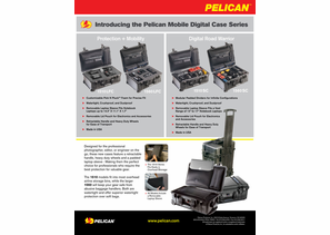 Pelican Mobile Digital Case Series - 1510SC / 1510LFC / 1560SC / 1560LFC