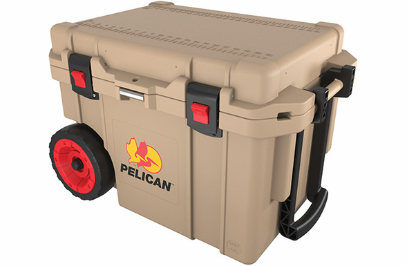Pelican ProGear Cooler with Wheels - 45 Quart - Tan - 45QW-Tan