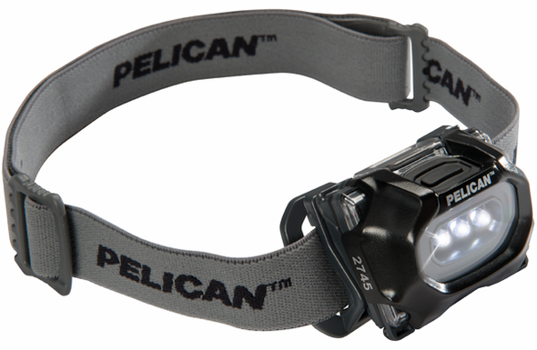 Pelican 2745 Safety Approved LED Headlight - 2745-BLACK