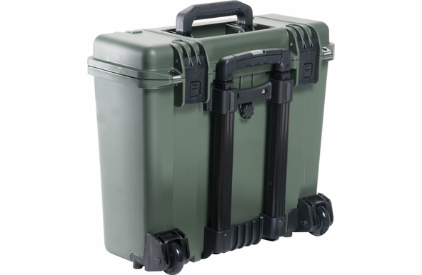 Pelican Storm Case iM2435 with Padded Dividers Green