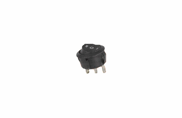 Round Rocker Switch SPDT On-Off-On - 20Amp