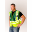 Safety Gear ANSI 207-2006 Public Safety Vest (CUSTOM) - 302-PSV-GRN