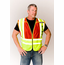Safety Gear ANSI 207-2006 Public Safety Vest (FIRE) - 302-PSV-RED-X
