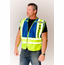 Safety Gear ANSI 207-2006 Public Safety Vest (POLICE) - 302-PSV-BLU-X