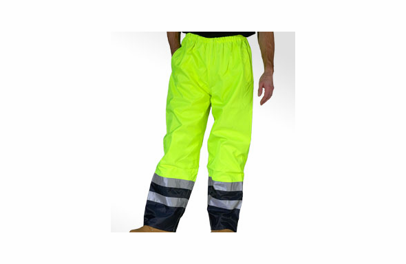 Safety Gear ANSI Premium Two Tone Traffic Pants - 318-TTPNT