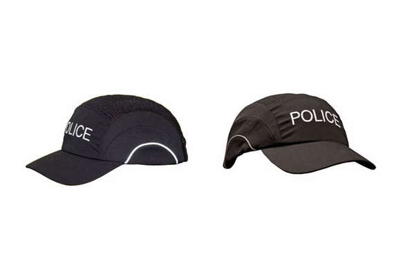 Safety Gear Baseball Style Bump Cap - POLICE - 282-ABR170-11-POLICE