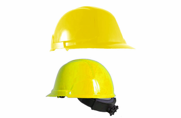 Safety Gear USA Ratcheting Hard Hat - 6-pack – 280-ML5151-20-6 - YELLOW