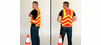 SafetyGear ANSI Class 2 Chevron Mesh High Visibility Vest - Reflective Orange - 302-CHEVOR15