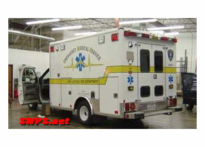 San Antonio Fire Dept. EMS Ambulance Installation