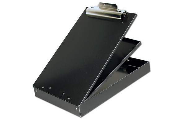 Saunders Cruiser Mate Clipboard with Dual Storage CM8512 - 21117 - Black