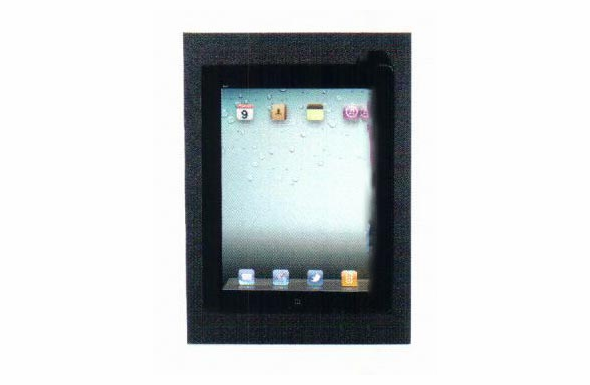 Saunders Foam Nest for iPad 2 or 3 - Black - 64100