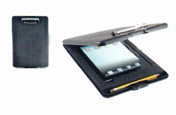 Saunders Slimmate Clipboard for iPad 2 & 3 - Black - 64558