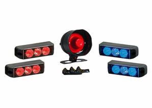 Sho-Me Luminator Trio / Siren ATV Kit Model 12.10ATV