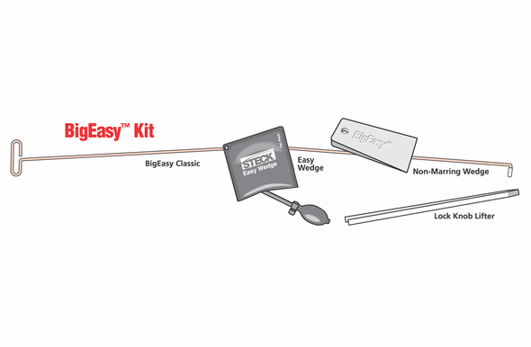 Steck BigEasy Public Safety Lock Out Kit - 32911