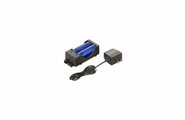 Streamlight 18650 Charger Kit - 120V AC (includes two 18650 batteries)