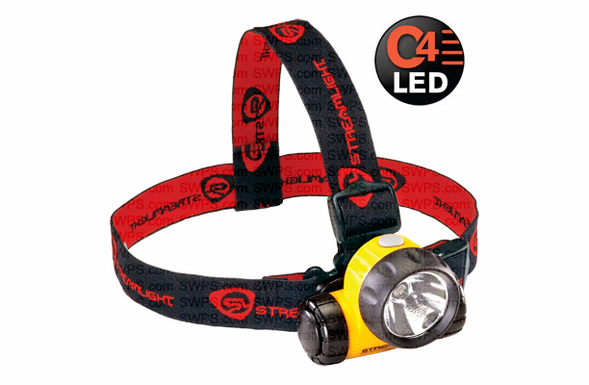 Streamlight Argo C4 LED Headlamp with 3 AAA Batteries - 61301