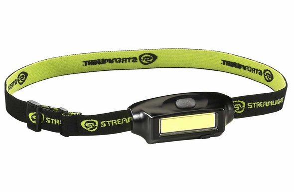 Streamlight Bandit USB LED Rechargeable Headlamp - Black - 61702
