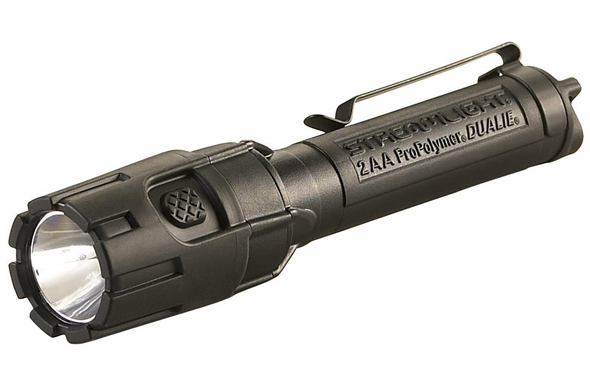 Streamlight Dualie 2AA HAZLO LED Flashlight - Black  67752