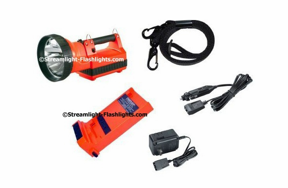 Streamlight HID LiteBox Standard System Orange - AC/DC - 1 Charger - 45601