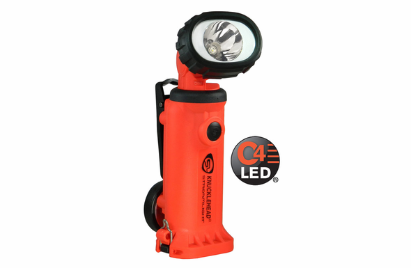 Streamlight Knucklehead Orange - Spot - Without Chargers - 90751