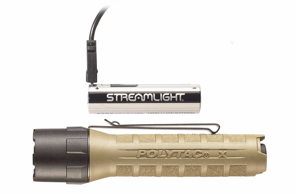 Streamlight PolyTac X USB with 18650 Battery - 88615