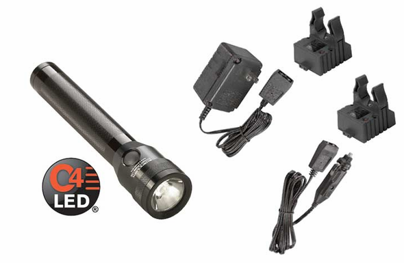 Streamlight Stinger Classic LED - AC/DC - 2 Smart Chargers - 75662