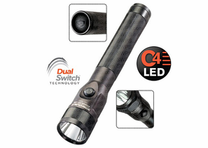 Streamlight Stinger DS C4 LED Rechargeable Flashlight - Dual Switches