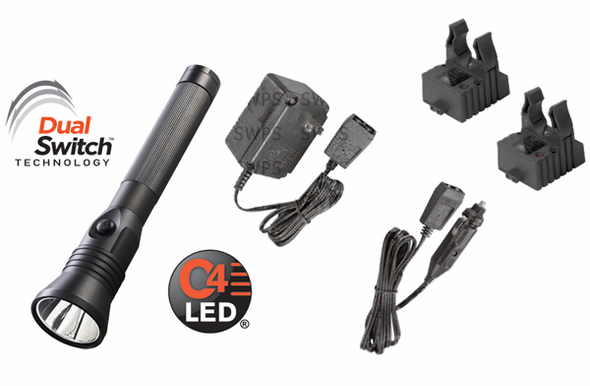 Streamlight Stinger DS LED HPL - AC/DC - 2 Smart Chargers - 75863