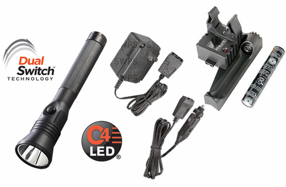 Streamlight Stinger DS LED HPL - AC/DC Smart PiggyBack Charger - 75882