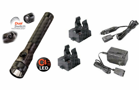Streamlight Stinger DS LED - AC/DC - 2 Smart Chargers - 75813