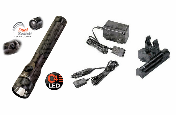 streamlight stinger ds led   dc steady piggyback