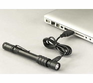 Streamlight Stylus Pro USB rechargeable Pen Light - Black - White LED - 66134