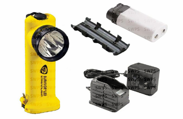Streamlight Survivor Led Yellow Ac Fast Charger 90512