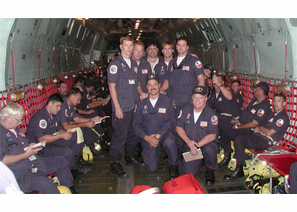 Texas Task Force 1 US Search and Rescue Team USAR