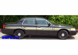 What are Stealth Police Car Graphics?