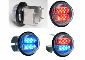 "Whelen 3.5""/4.0"" Round Super-LED Lightheads"