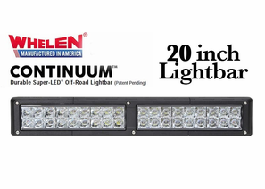 Whelen Continuum Super-LED Off Road Lights - 20 Inch Lightbars