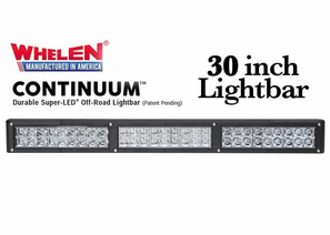 Whelen Continuum Super-LED Off Road Lights - 30 Inch Lightbars
