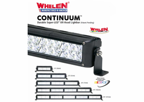 Whelen Continuum Super-LED Off Road Lights
