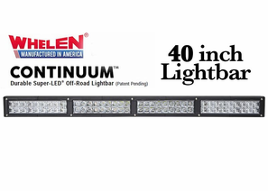 Whelen Continuum Super-LED Off Road Lights - 40 Inch Lightbars