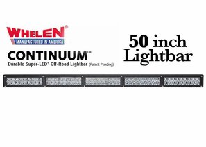 Whelen Continuum Super-LED Off Road Lights - 50 Inch Lightbars