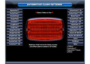 Whelen Flash Pattern Demo