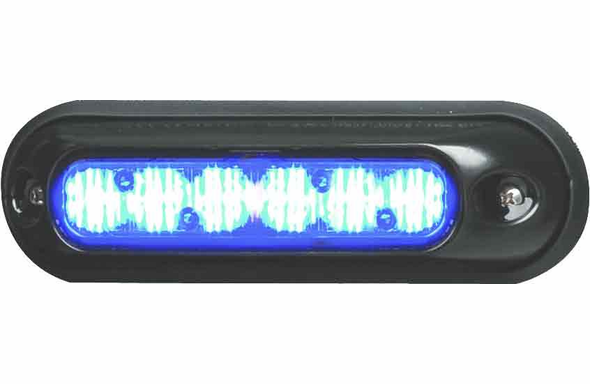 Whelen ION Surface Mount Super-LED Lighthead - BLUE - IONSMB