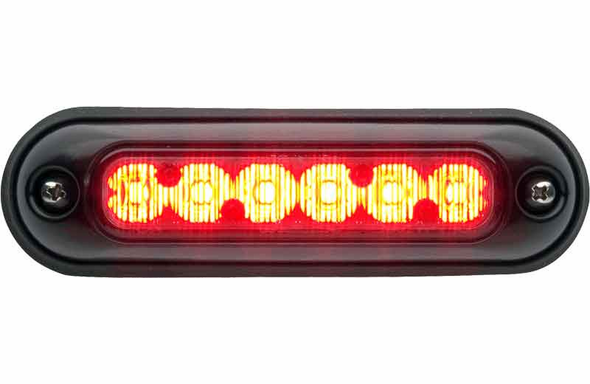 Whelen ION Surface Mount Super-LED Lighthead - RED - IONSMR