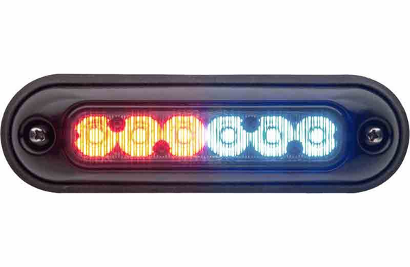 Whelen ION Surface Mount Super-LED Lighthead - RED/WHITE - IONSMD