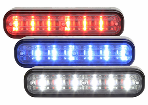 Whelen ION TRIO Linear-LED Lighthead Series - 3 LED Colors in 1 Lighthead